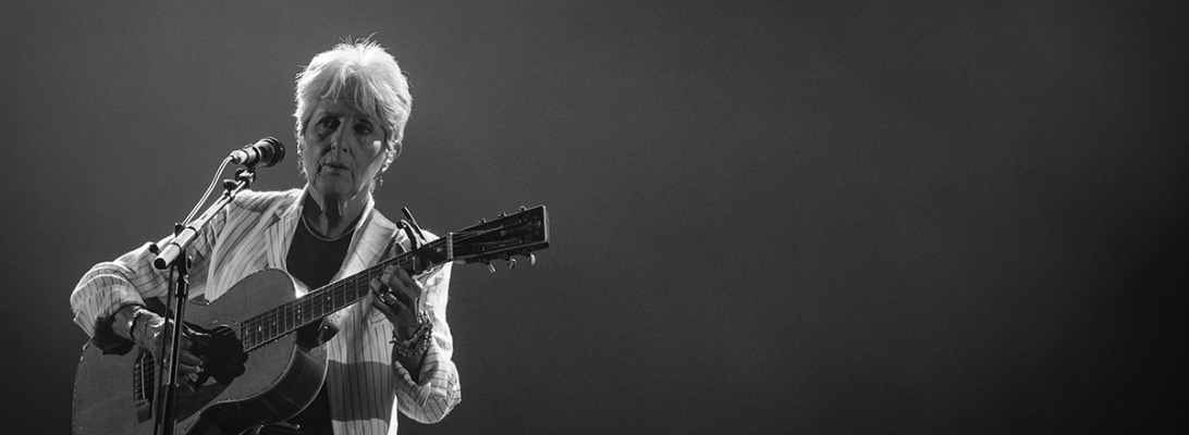 Joan Baez live 2019, Gent Jazz, Ghent, fare thee well tour © Caroline Vandekerckhove / Dimly lit stages