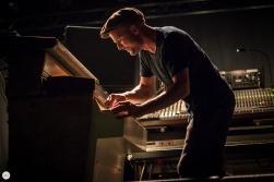 Nils Frahm live 2019, OLT Rivierenhof Antwerpen © Caroline Vandekerckhove / Dimly lit stages