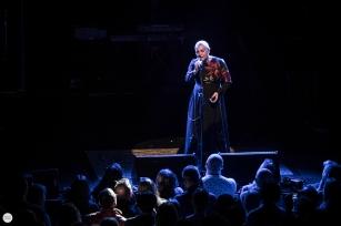 Sinead O'Connor live 2020, het depot, Leuven (aka Magda Davitt, Shuhada' Sadaqat) © Caroline Vandekerckhove / Dimly lit stages